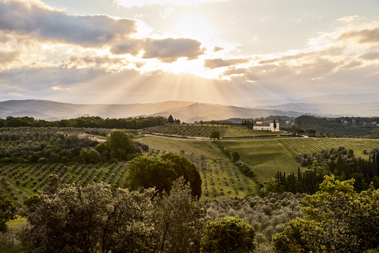 Dawn over the Tuscan Landscape