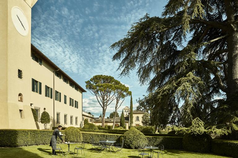 Garden at COMO Castello Del Nero