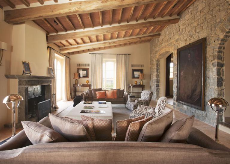 RWCdB - Villa Sant'Anna, Living Room