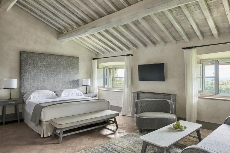 Tavernelle Room Bedroom High Resolution 1