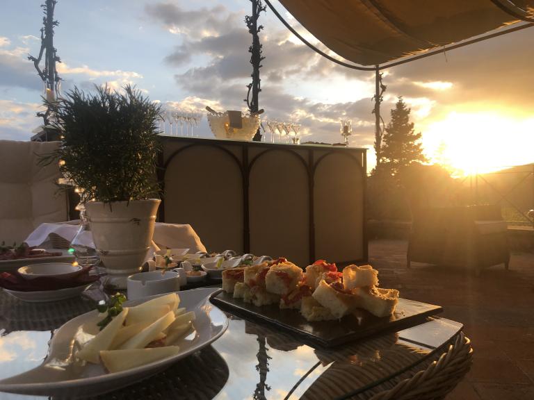 aperitivo tramonto