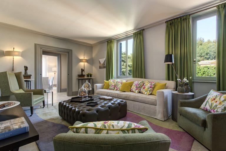 1 RFH Hotel de Russie - Nijinsky Suite Living