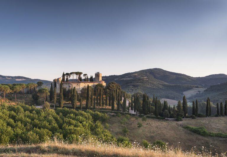 2_Reschio Estate - Hotel Castello di Reschio - Summer view
