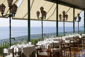 Set tables for breakfast at Relais & Chateaux Il San Pietro di Positano,Positano