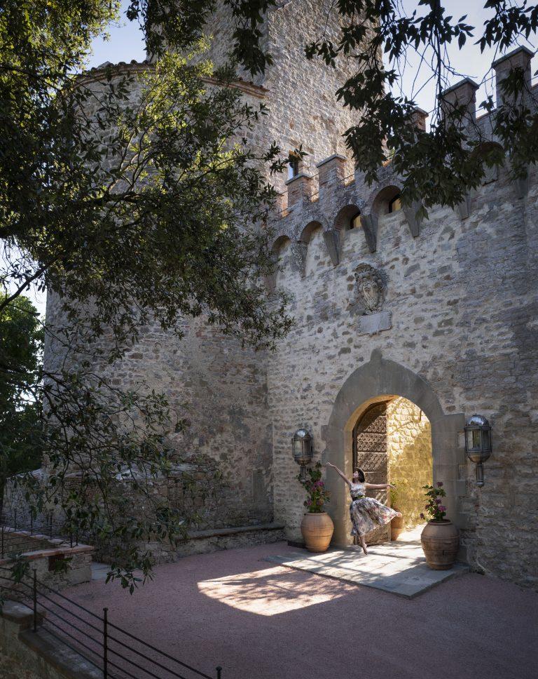 3_Reschio Estate - Hotel Castello di Reschio - Entrance