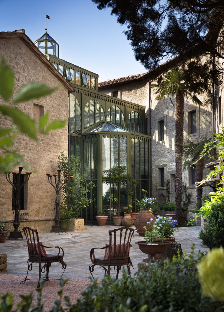 5_Reschio Estate - Hotel Castello di Reschio - The Palm Court