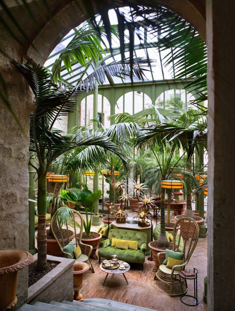 6_Reschio Estate - Hotel Castello di Reschio - The Palm Court