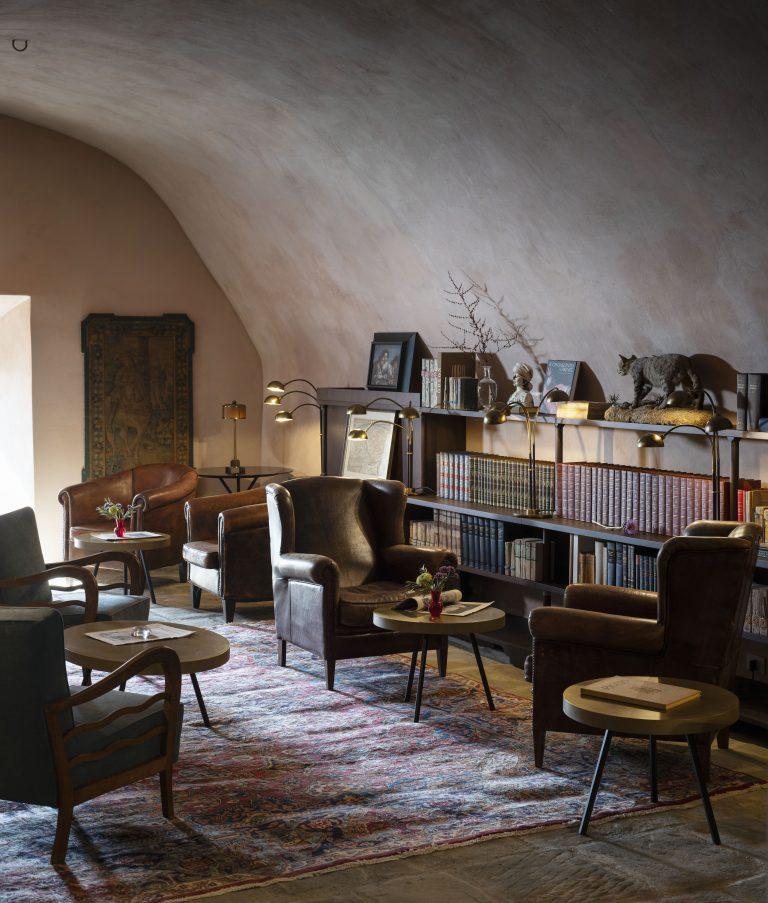9_Reschio Estate - Hotel Castello di Reschio - The Library