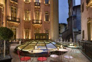 Chateau Monfort Terrace