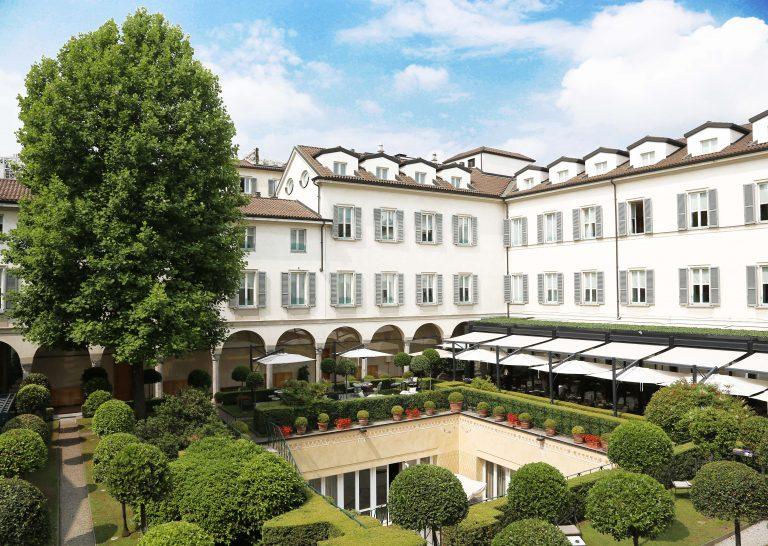 Cloistered Courtyard, Four Seasons Hotel Milano
