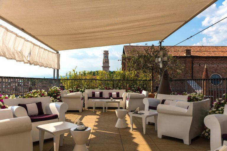 Due Torri Hotel Panoramic Terrace - Bar main 2