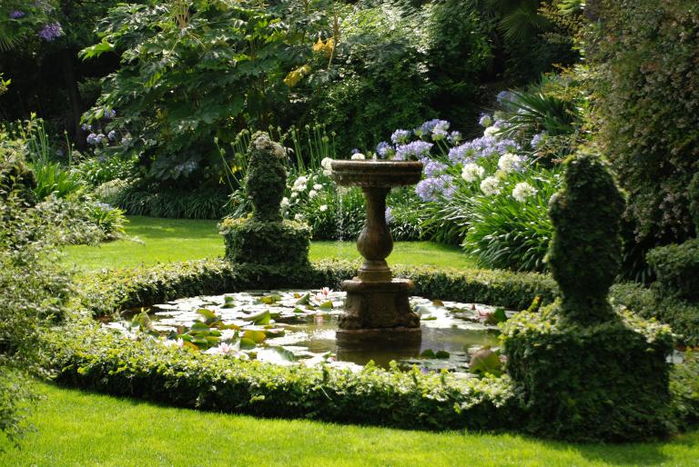 Fontana ninfee