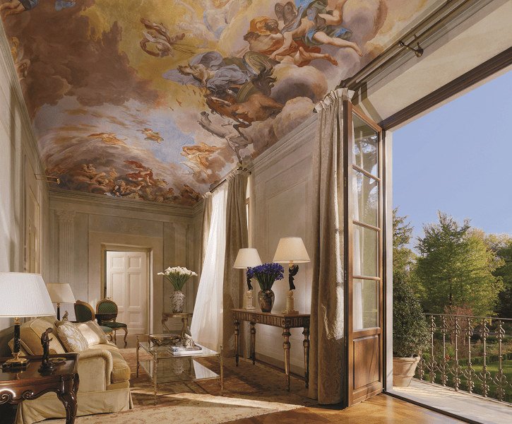 Four Seasons Hotel Firenze_Presidential Suite La Villa-min
