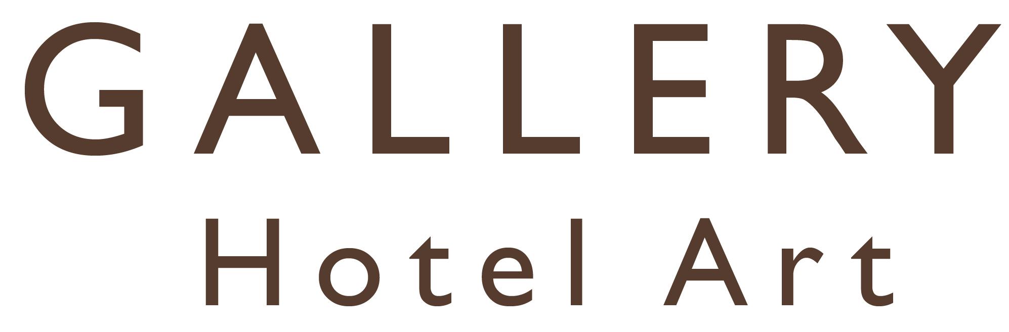 Gallery Hotel Art Logo GHA Black