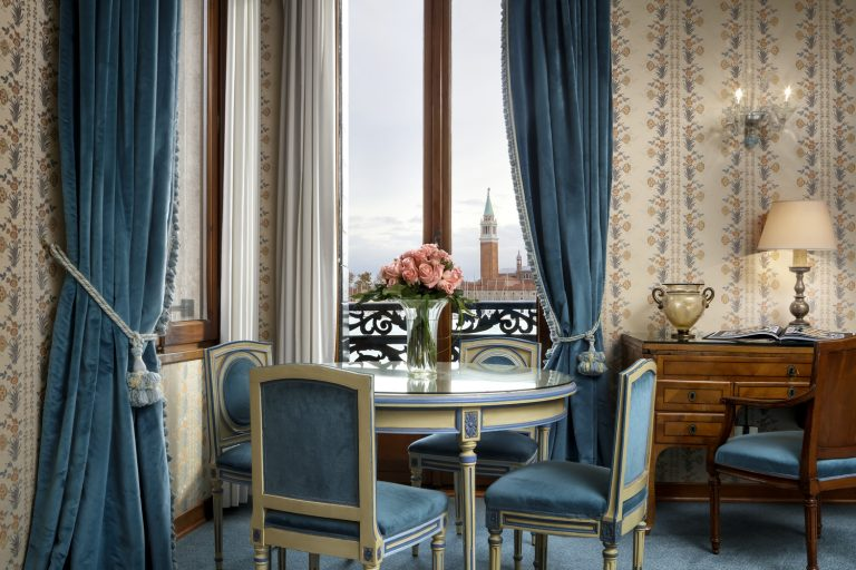 Hotel Danieli -Lagoon View Suite Living Room - Palazzo Casa Nuova-Low