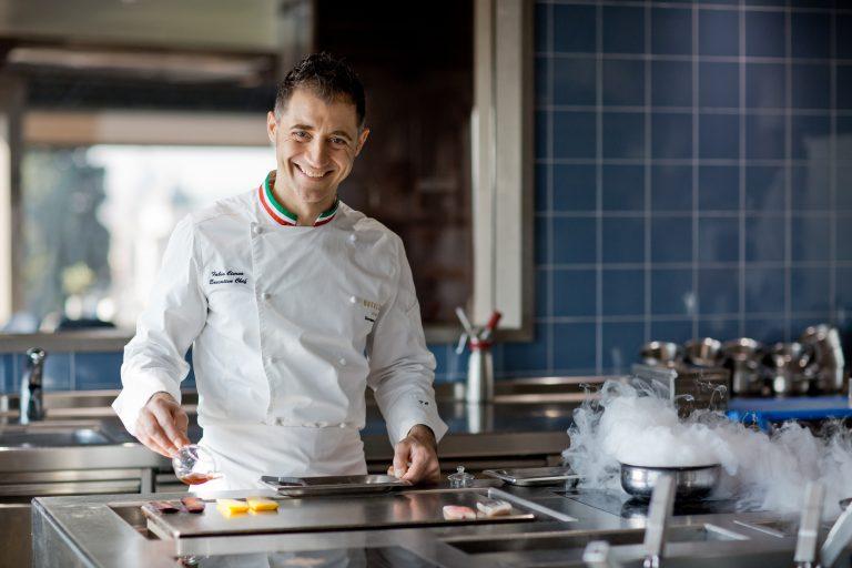Hotel Eden Fabio Ciervo in cucina