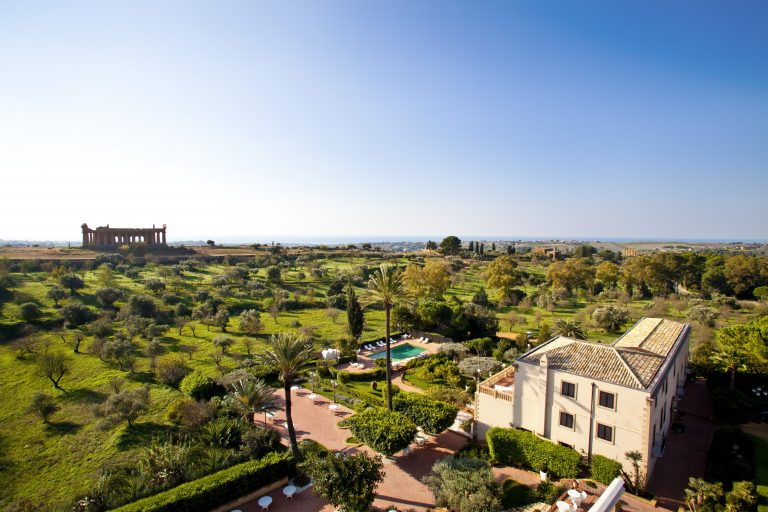 Hotel Villa Athena ESTERNO VILLA