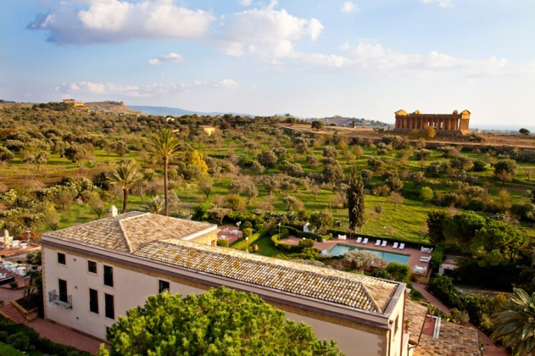 Hotel Villa Athena ESTERNO VILLA LATO DX