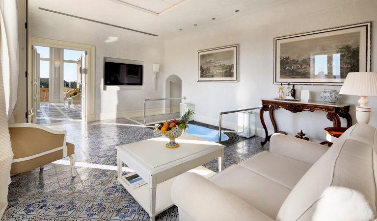 Hotel Villa Athena VILLA SUITE LIVING ROOM D