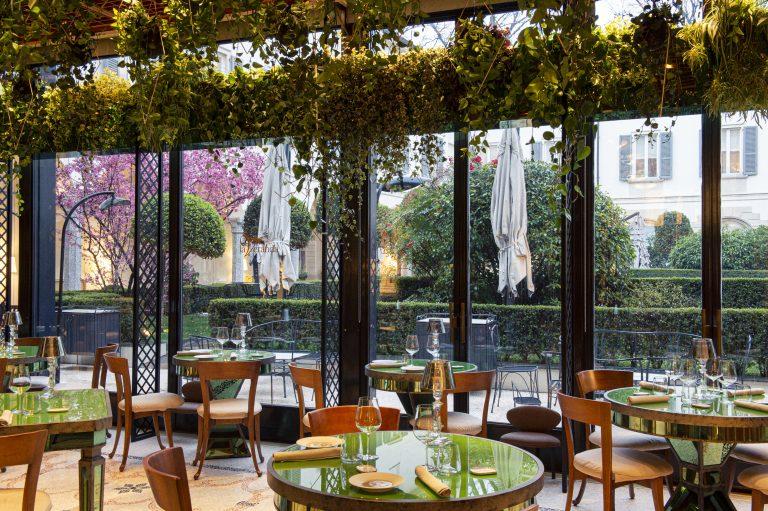 La Veranda restaurant, Four Seasons Hotel Milano