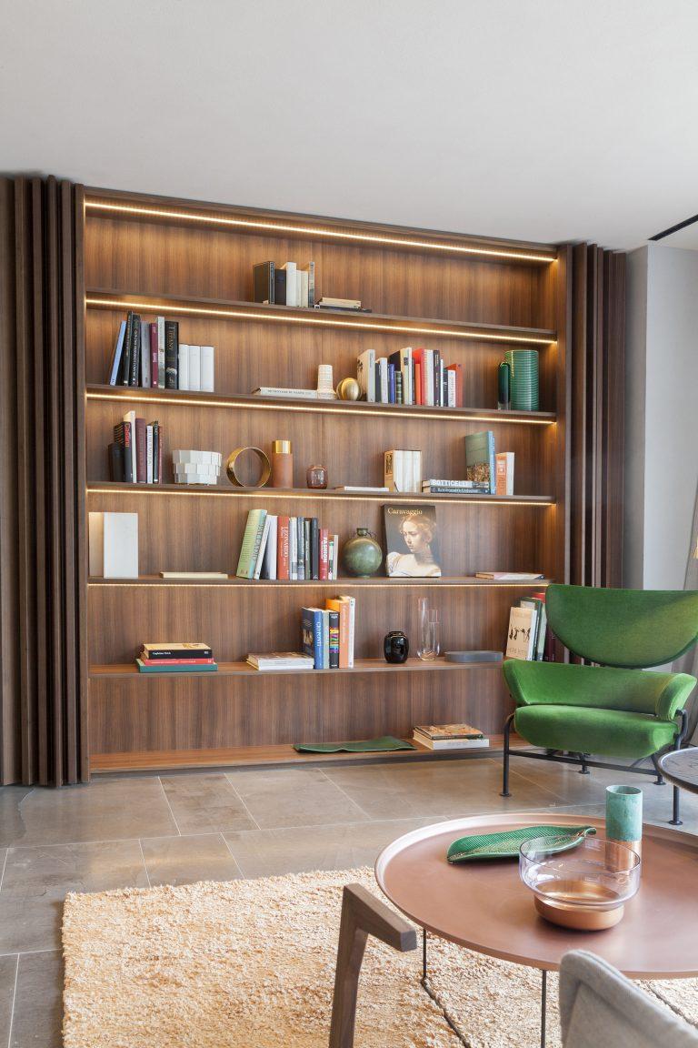Library- il Sereno- Patricia Parinejad