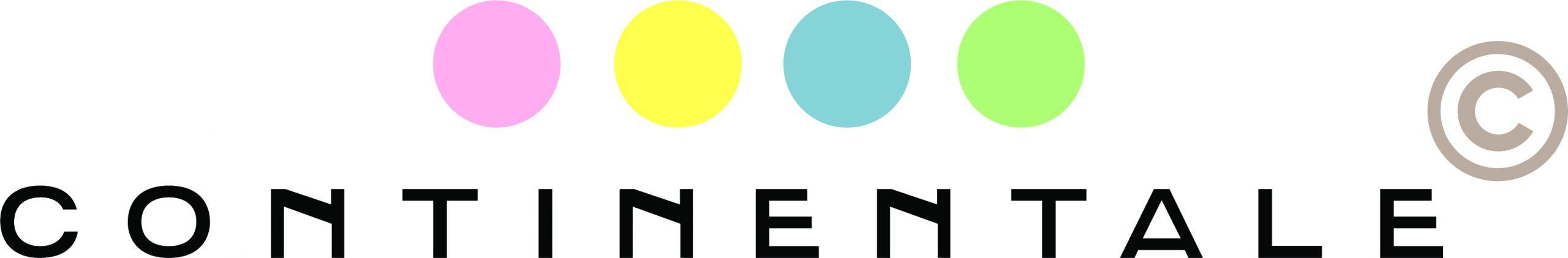 Logo continentale multicolor singolo