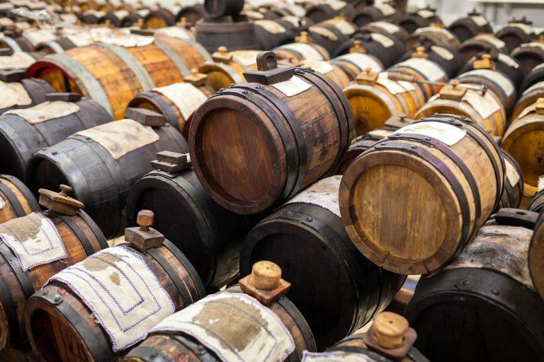 Modena - Balsamic vinegar barrel room