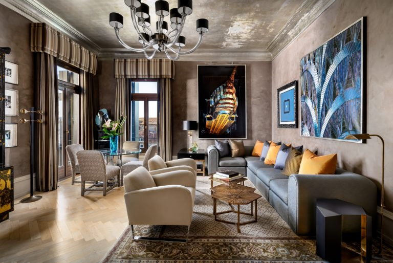 The Gritti Palace 16 -The Donghia Patron Grand Canal Suite
