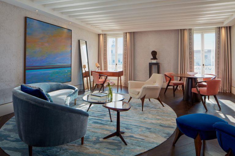 The St. Regis Venice -A Monet Suite Living Room