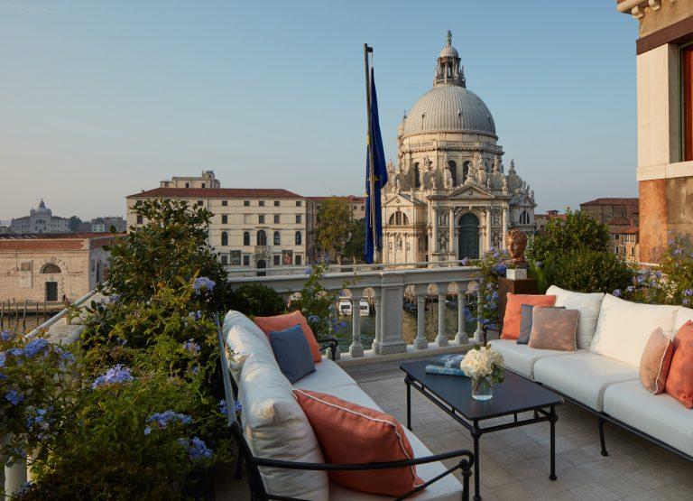 The St. Regis Venice -Terrace Grand Canal Suite - Terrace at Dawn