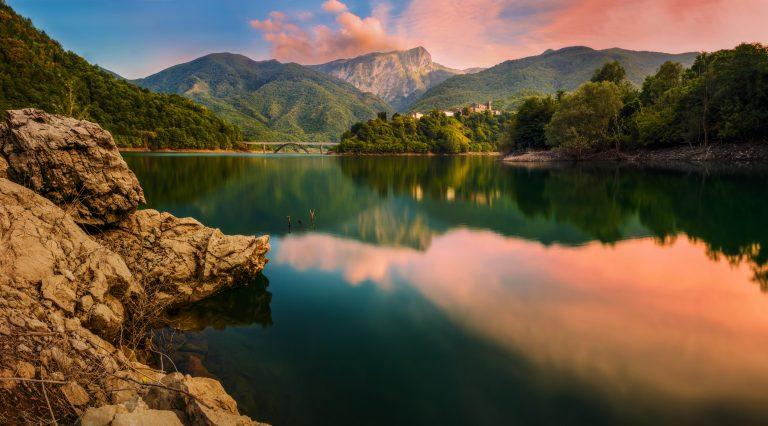 Via Vandelli - Lake Vagli-min