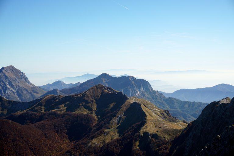 Via Vandelli - Monte Tambura views