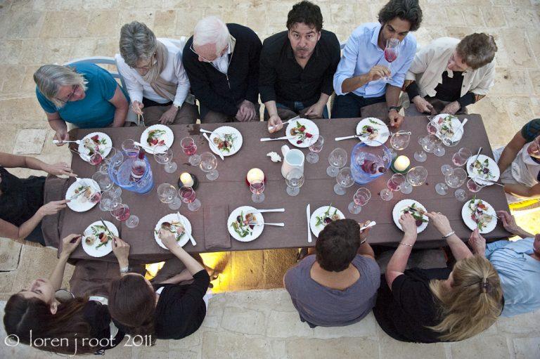 Dining in Puglia