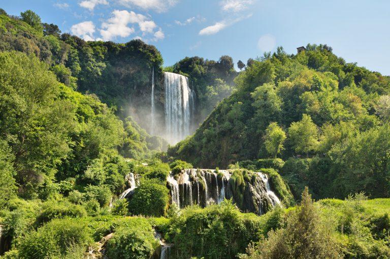 The Cascata delle Marmore (Marmore Waterfalls) Umbria