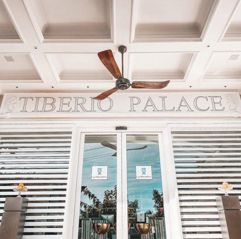 Capri Tiberio Palace Common areas - Entrance