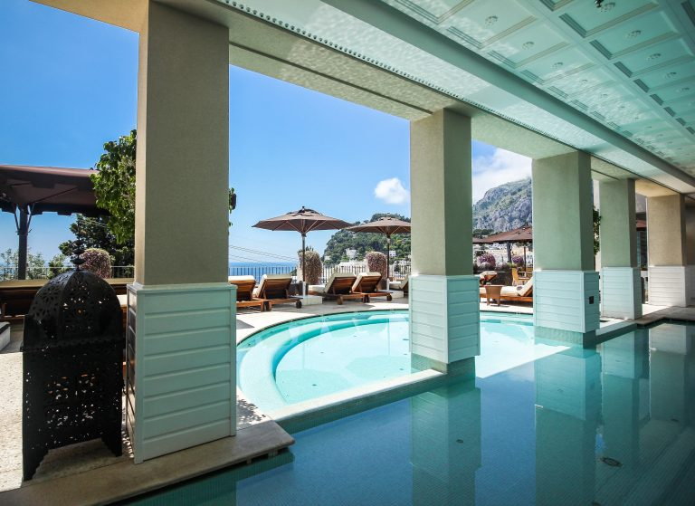 Capri Tiberio Palace Common areas - Pool