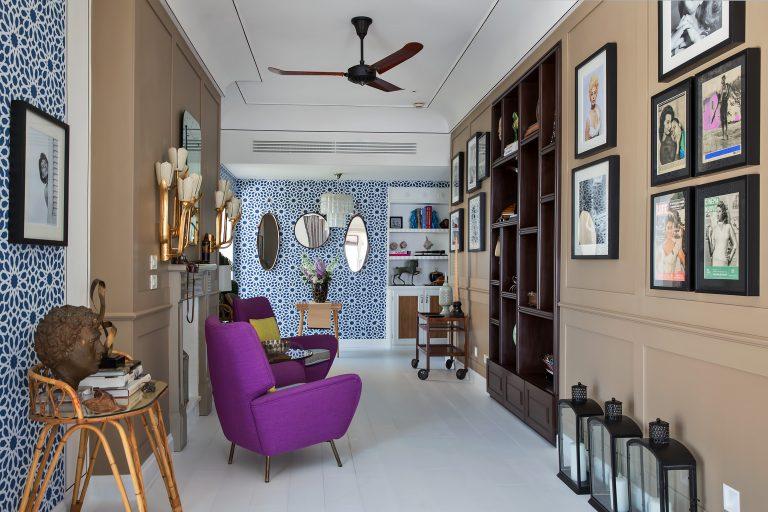 Capri Tiberio Palace Rooms - Bellevue Suite corridor