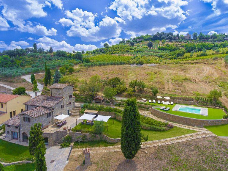 Italian Style Villas Tuscany 02