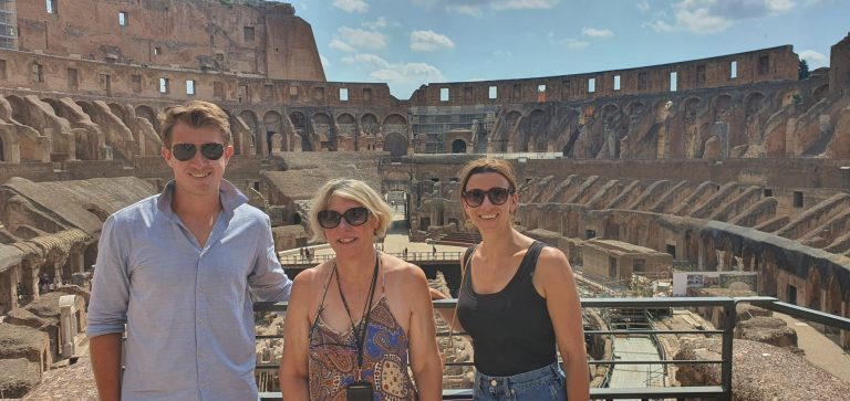 Italy with Class Colosseum Client