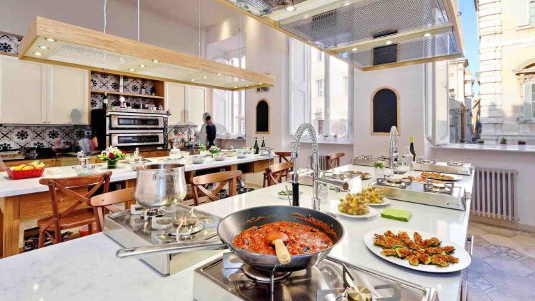 Italy with Class Cooking Classes in our converted 17th century palazzo
