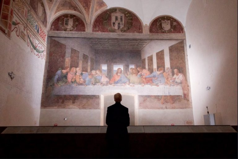 Italy with Class Last-Supper-Viewing