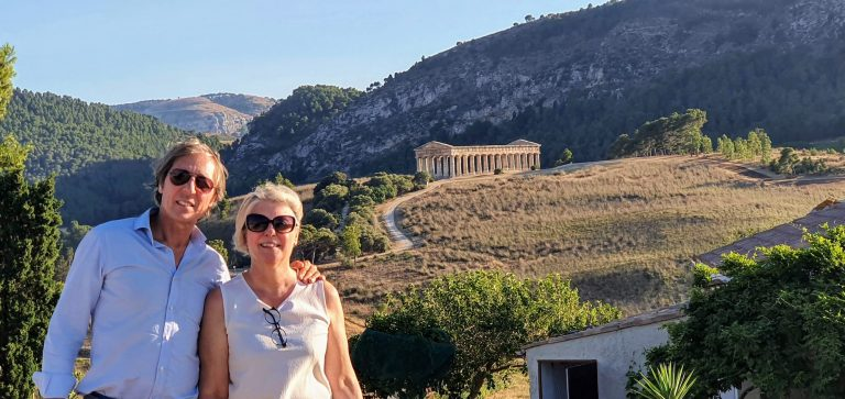 Italy with Class Marilena Sal Sicily Segesta