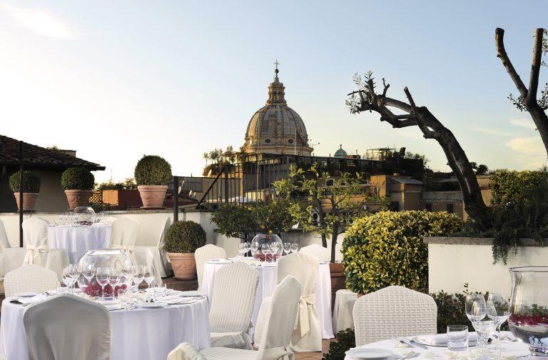 Starhotels Hotel d'Inghilterra_Roma terrace