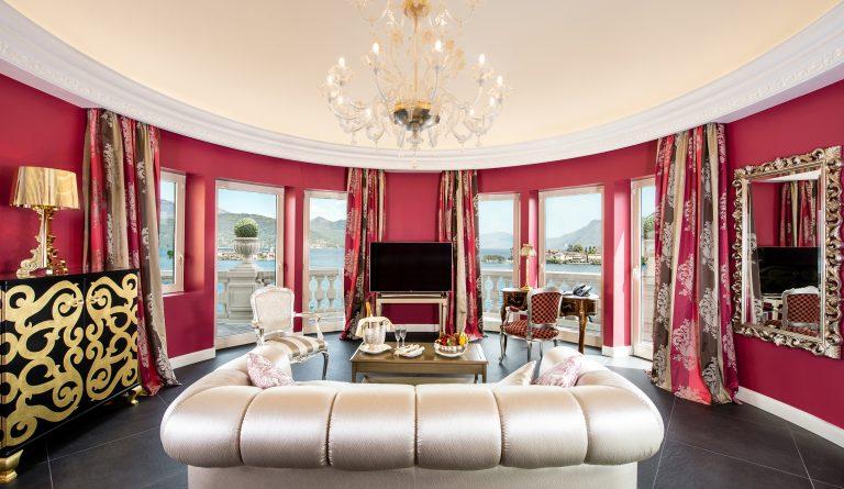 Vila Aminta 34 - La Borromea Suite living