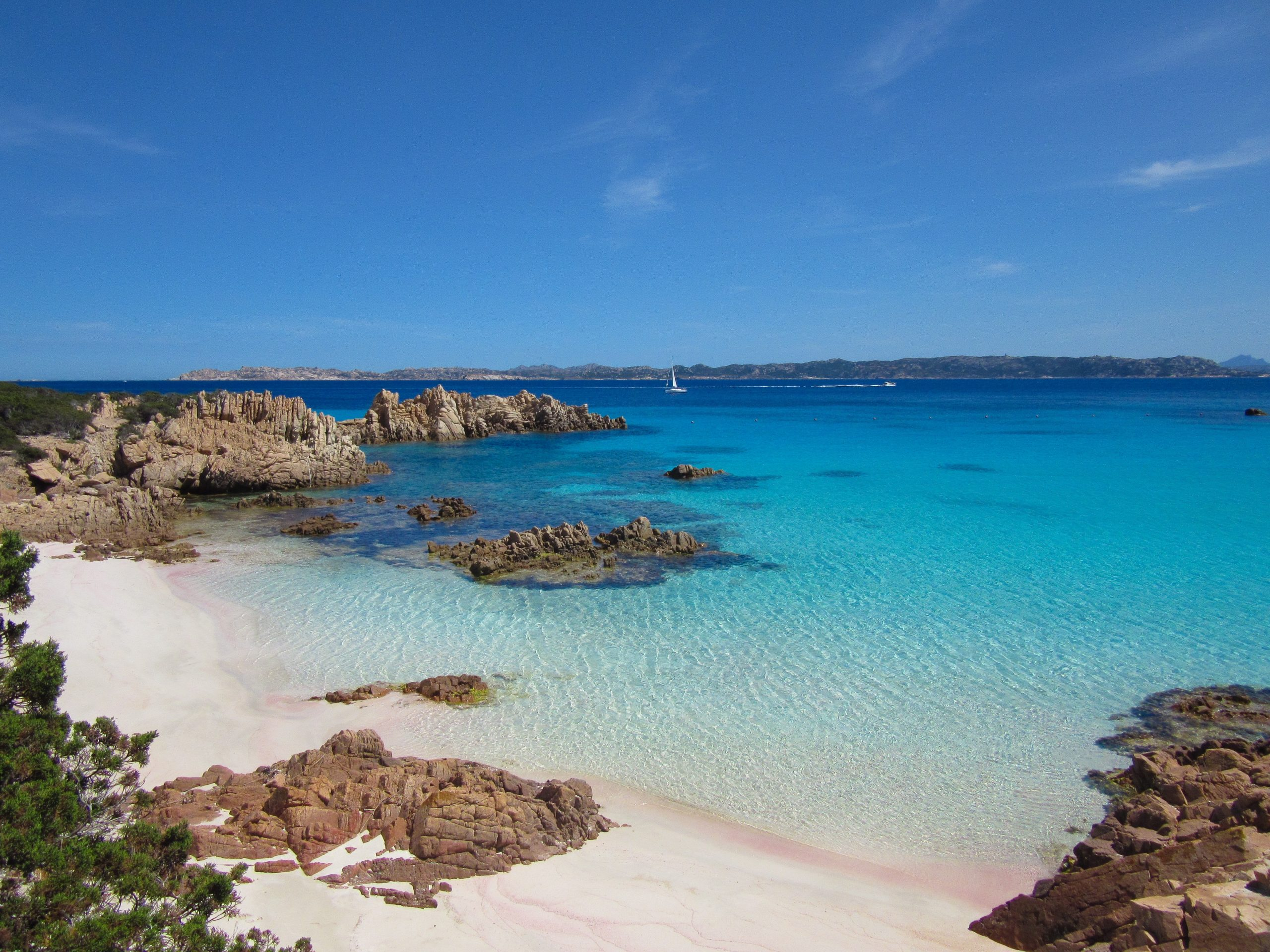 Spiaggia,Rosa,In,Sardegna,,One,Of,The,Beautiful,Beaches,In