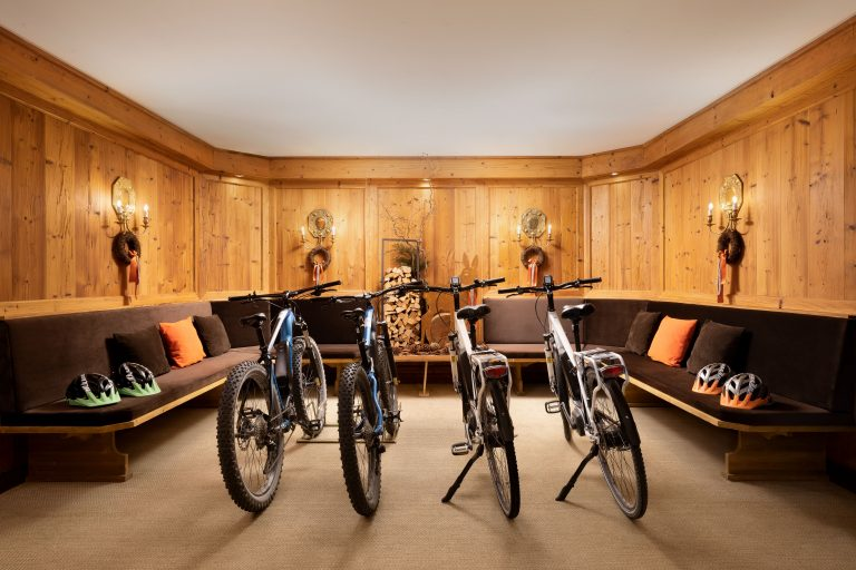 Cristallo, a Luxury Collection Resort & Spa Bike room-min