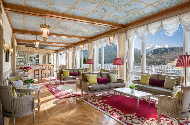 Cristallo, a Luxury Collection Resort & Spa Cristallo Lounge