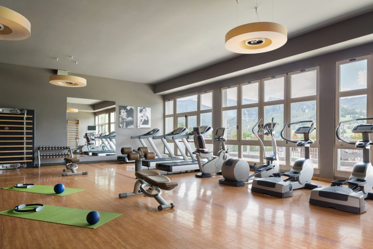 Cristallo, a Luxury Collection Resort & Spa Gym