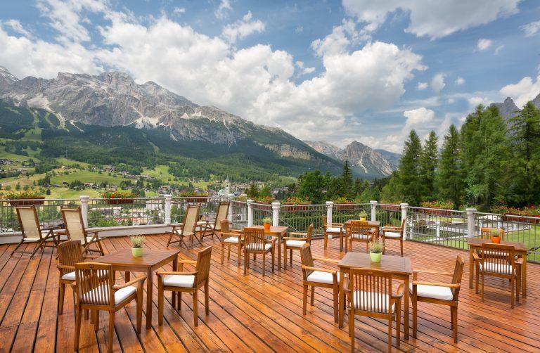 Cristallo, a Luxury Collection Resort & Spa terrazza (2)