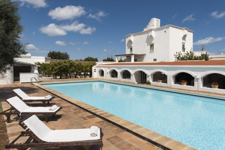 Il Melograno outdorr swimming pool-min